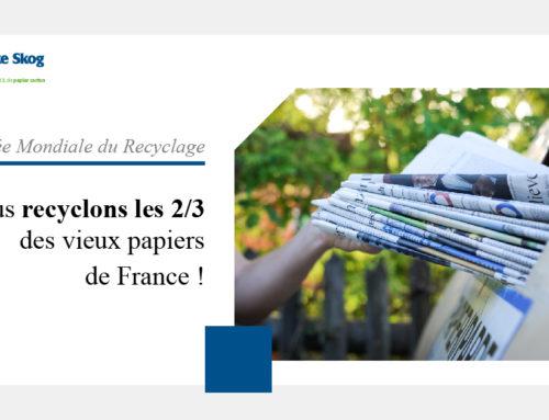 18 Mars 2021  |  Norske Skog Golbey recycle les 2/3 des papiers récupérés de France