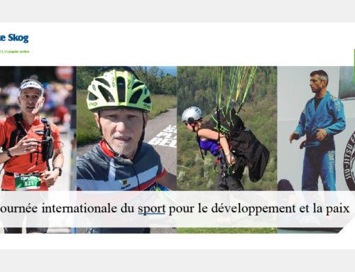 6 Avril 2021  |  Portrait de sportifs pour la Journée Internationale du Sport