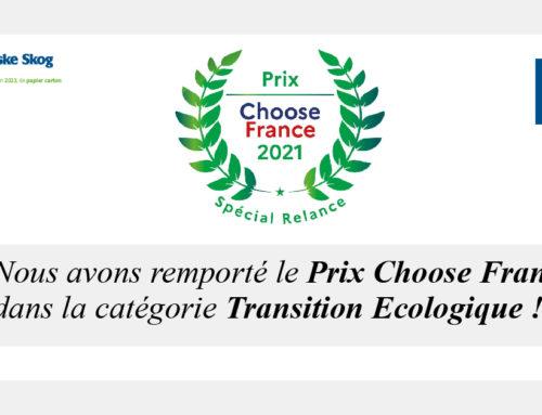 Norske Skog Golbey remporte le Trophée de la Transition Ecologique