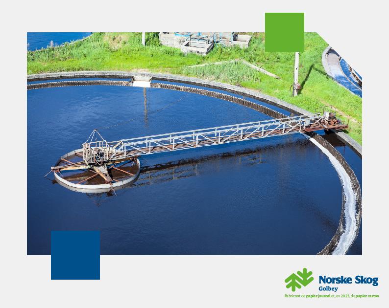 Norske Skog Golbey investit dans sa station d'épuration pour renforcer le traitement de ses effluents